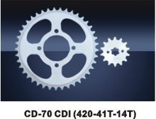 motorcycle sprocket final driven CD-70 CDI high quality reasonable price