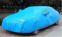 polyester silver Car Cover