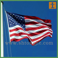 National Flags Decorate Fabric American Flag