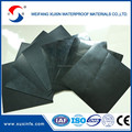 black color hdpe waterproof membrane for the pond liner