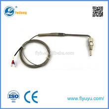 Plastic gas thermocouple gas safety valve thermocouple valves egt k type gas thermocouple