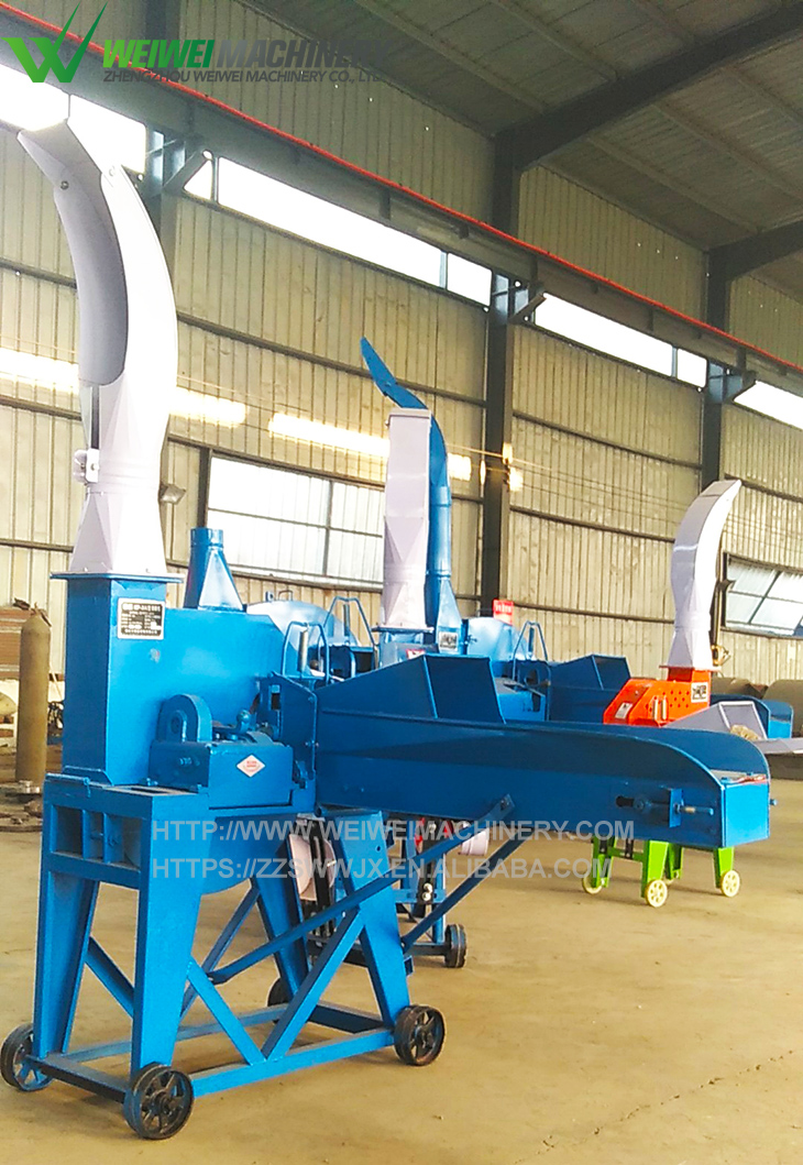 Mini tractor grass cutter alfalfa hay cutter attached to tractor animal feed cutting machine