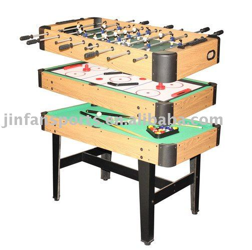 Multi games table indoor game table 3 in 1 game table buy multi game table - Table multi jeux 5 en 1 ...