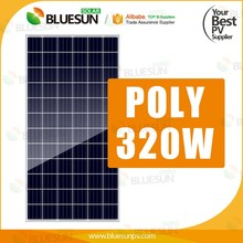 Customized Bluesun hefei 4kw poly pv solar power off grid system home use
