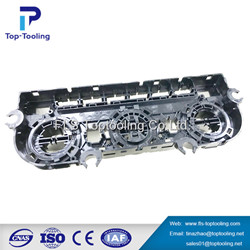 auto plastic parts injection tooling car bumper plastic mold price molding maker China