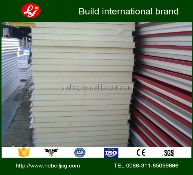 insulated flooring panels waterproofing pu roof sandwich panel High quality sandwich panels