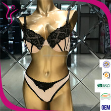 Fancy Ladies Undergarments Sexy Designer Bra and Panty Set