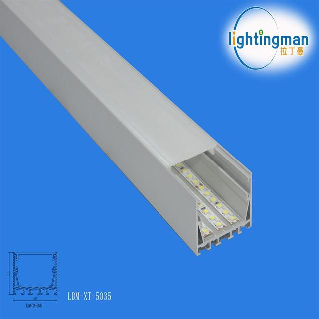 2018 aluminum profile for flex face light box ,High hardness and oxidation resistance,using decoration and lighting