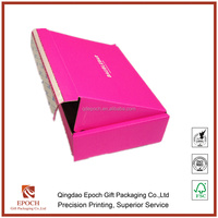 online shopping paper folding gift box