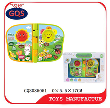 High quality baby book plastic book toys for kids