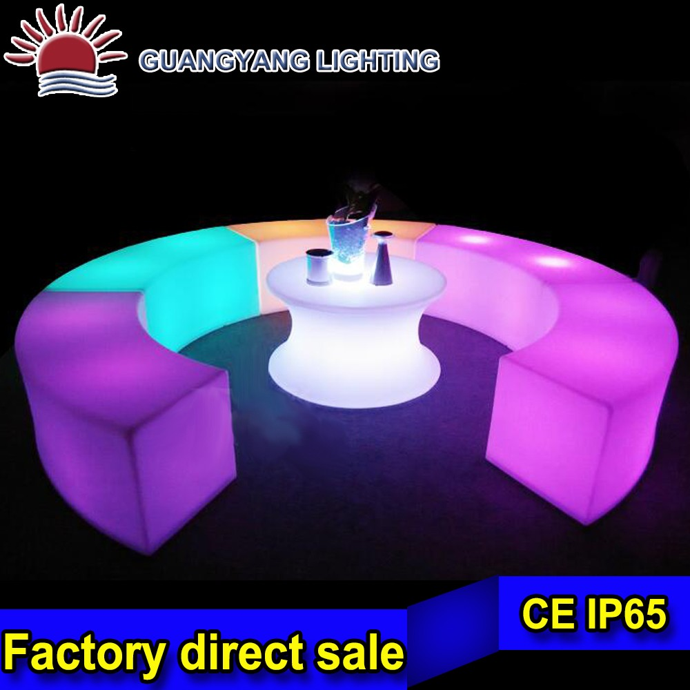new modern led bar chairs and tables design,party table and chair,outdoor furniture