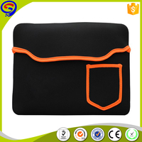 15.6 inch classic Neoprene laptop sleeve with pockets