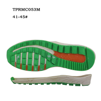 OEM Factory China New Men Sole Design TPR Injected TPR Outsole For Running