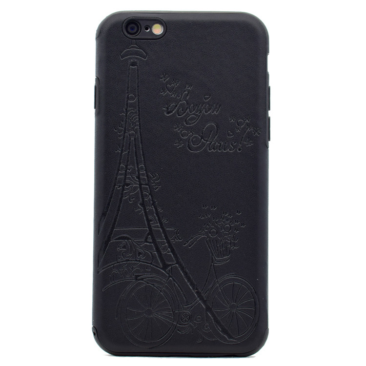 Latest design phone 7 tpu black case cover for iphone 7