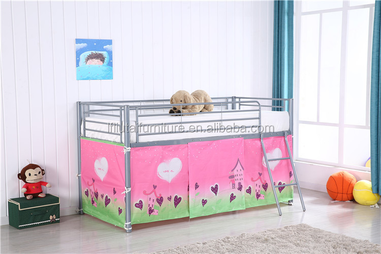 THEME BEDS - Single, 3/4 and toddler metal bed