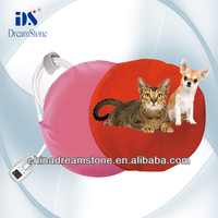 round bed for pet---heating pet bed
