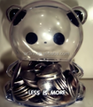 Making crystal plastic coin bank/promotion gift custom clear money saving box/transparent piggy bank maker company
