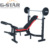 GS-310A-1 Deluxe Mpex Hyperextension body Weight Bench for Commercial Use