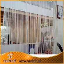 fashion fringe curtains with various colors