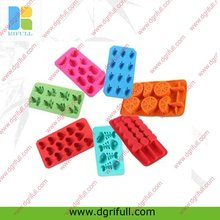 Cartoon High quality ice cube tray silicone