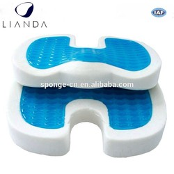 gel seat cushion for cars,comfort massage PU Gel seat cushion,gel seat cushion