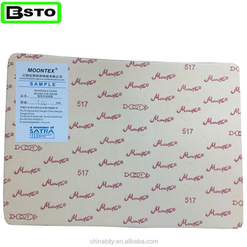Jiangyin besto china Moontex 517 Cellulose Insole Paper Board