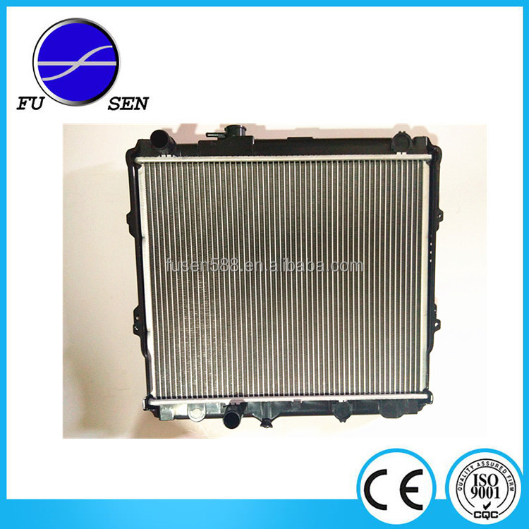 brazed radiator suitable for hilux LN147R '97