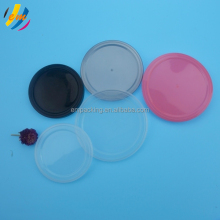 transparent pop can plastic lid