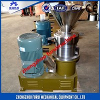 2015 top quality cocoa bean grinding machine for food processing plant