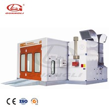 GL7-CE fire protection equipment car auto painting baking spray booth oven