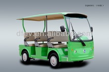 Electric 8 seater sightseeing bus for tourist made by Dongfeng Motor