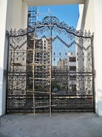 Gate - Designer made of Cast Iron