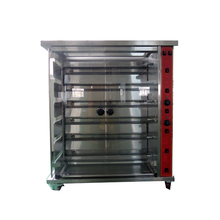 High capacity electric 6-rods chicken rotisserie