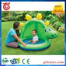 2017 Lovely kids swimming pool inflatable baby pool water games pool for sale