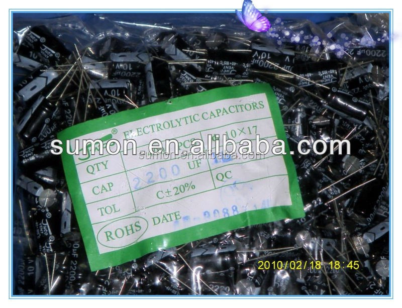 high quality SOLID TANTALUM ELECTROLYTIC CAPACITORS 2200F 10V 20% cheap price best choice