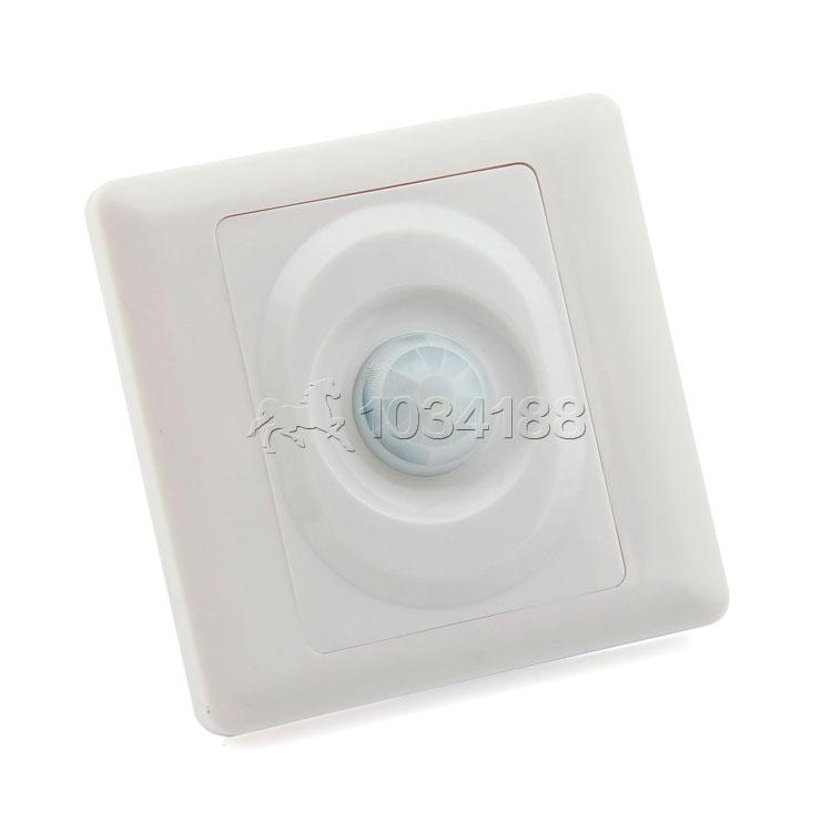 ... Wall Type Motion Sensing Switch IR Infrared Sensor Automatic Light  Switch