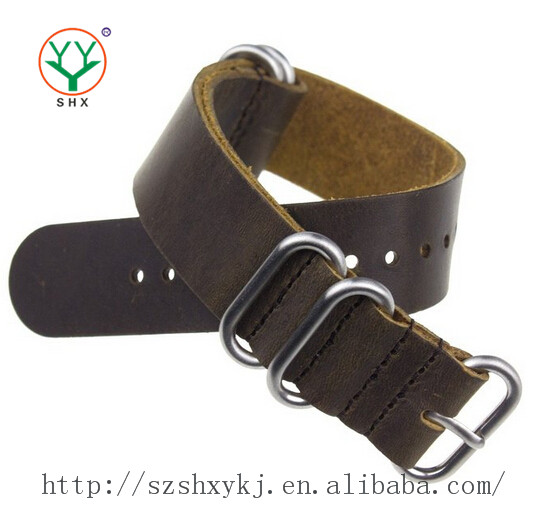 Quality Guaranteed Make To Order Imported Leather Fake Leather Watch Strap