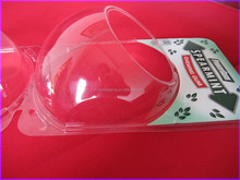 Clear Insert Card PVC Thermoformed Clamshell
