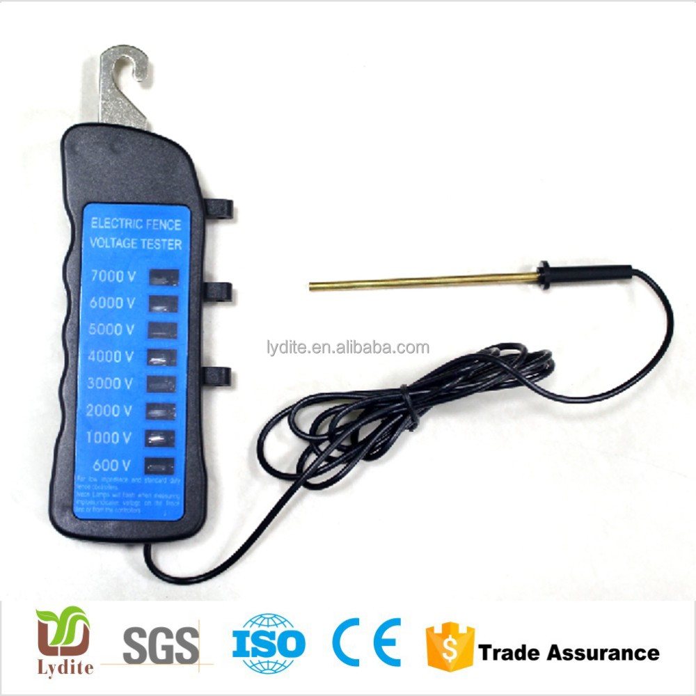 Garden Fence Product Digital LCD Animal Fense Tester