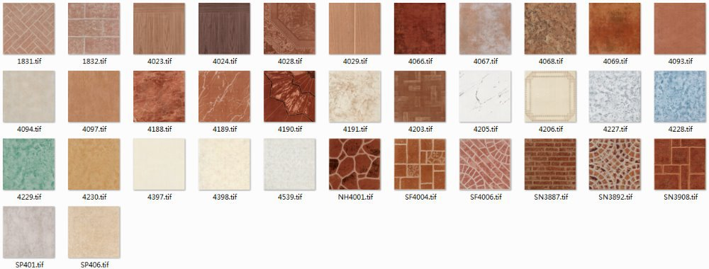 Building material 16x16 rustic glazed ceramic floor tile for 16x16 kitchen designs