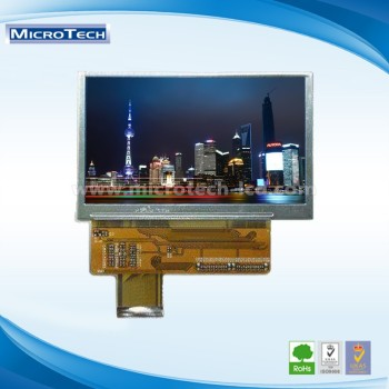 3.5 inch TFT lcd display with Capacitive touch screen and 320*240 resolution in RGB interface and active area 70.08*52.56mm