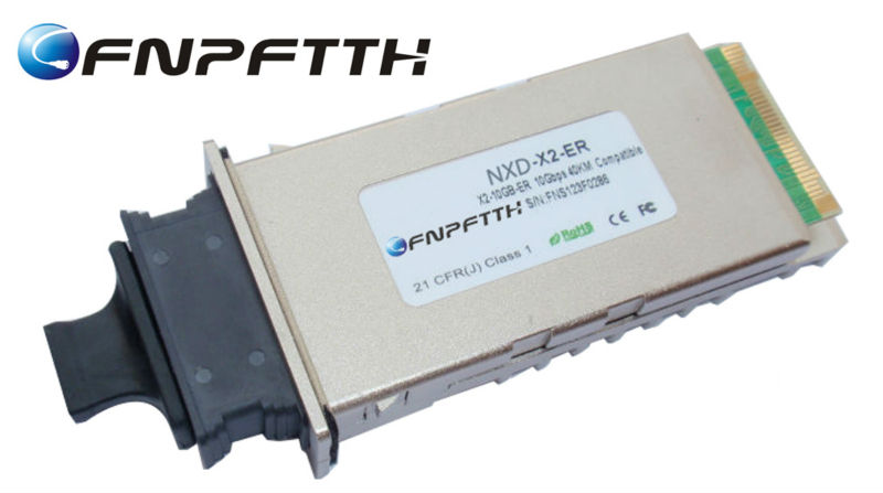 NXD 40km 1550nm 10GBASE-LR X2 Transceiver Module