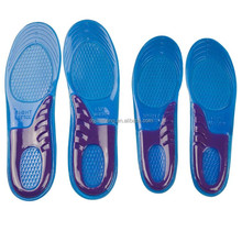 Comfort full length reusable gel insoles for running shoes (Man / lady size)