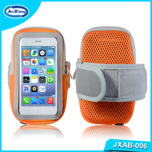 Universal Zippered Sports Armband Fitness Running Arm Band Bag Pouch Jogging Cases Cover for Iphone 5 6 7