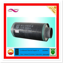 fiber glass wool insulation with aluminium foil glass fiber steam insulation tube