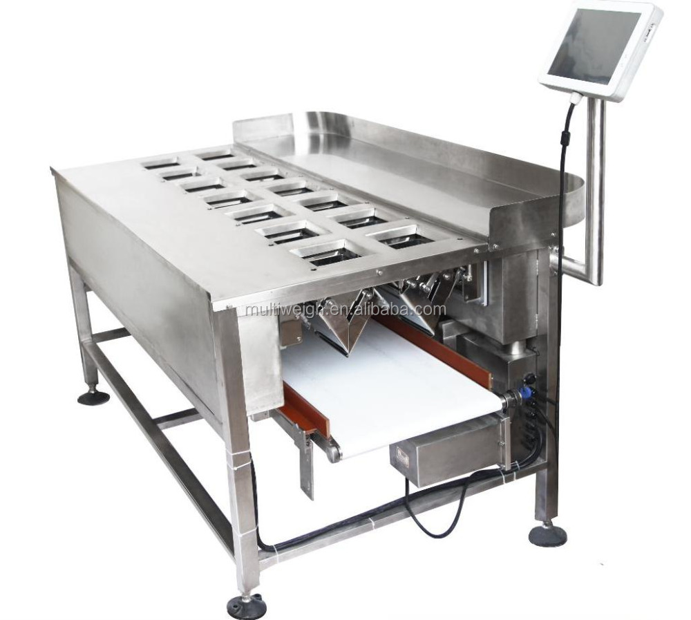 linear combination weigher for fresh, frozen, sticky or chilled foods