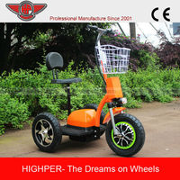 Kids 3 wheelers 500w Electric Scooter for sale (HP105E-D)