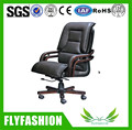 OC-07 Big Boss Lift Swivel Luxury Genuine Leather Solid Wood Office Chair Executive Manager Chair