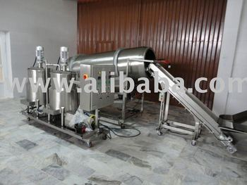 continuous oiling seasoning drum sprayer