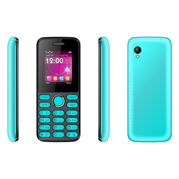 1.77inch Good Quality Cheap Copy Blu Feature Mobile Phone for South Amercia